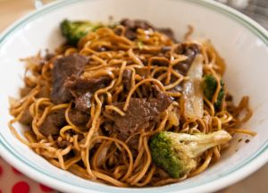 Cambodian food recipes beef noodles