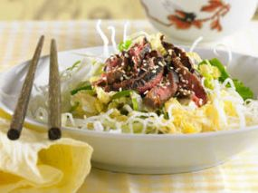 Cambodian food recipes beef salad
