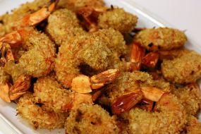 Cambodian food Recipes crispy fried shrimp