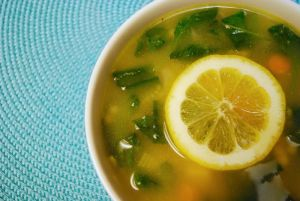 Cambodian food Recipes lemon chicken soup