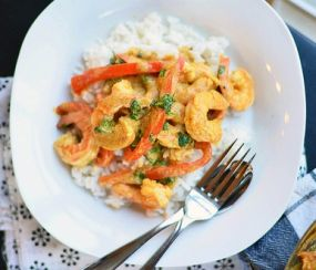Cambodian food Recipes shrimp curry
