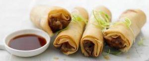 Cambodian vegetarian pancakes