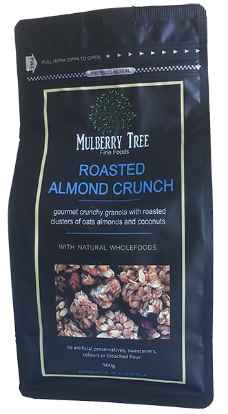 Mulberry Tree Fine Foods - Roasted Almond Crunch granola