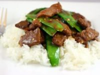 Cambodian food Recipes beef and snow peas