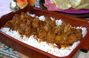 Cambodian food Recipe beef curry