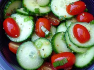 Cambodian food recipes cucumber salad
