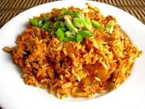Cambodian food recipes fried rice